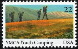 Scott #2160 YMCA Youth Camping