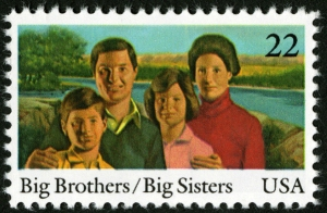 Scott #2162 Big Brothers & Big Sisters