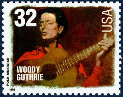 Scott #3213 Woody Guthrie