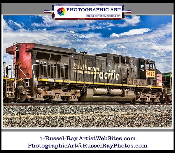 Union Pacific 6190, a former Southern Pacific engine