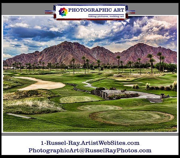 Golf in the high desert of La Quinta, California