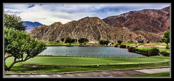 Golf in the high desert of La Quinta, California