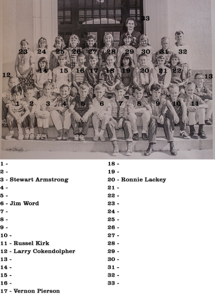 Mrs. Cooper's home room class, 5th Gradd 1966, Flato Elementary School, Kingsville TX