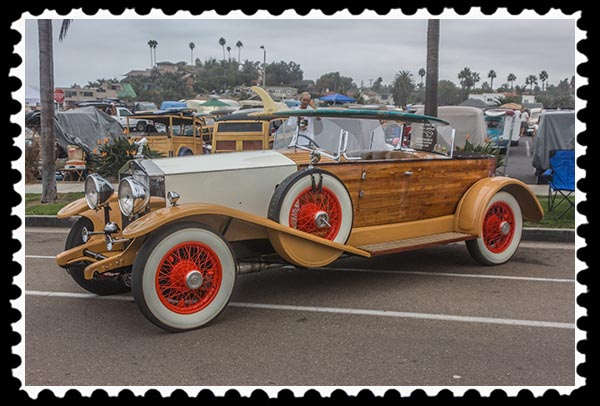 Woodie in Encinitas, California, on 9-20-14