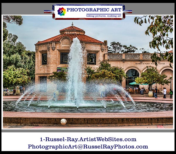 Bea Evenson Fountain in San Diego's Balboa Park