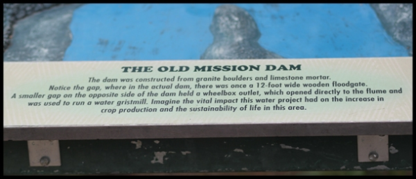 Old Mission Dam in San Diego, California