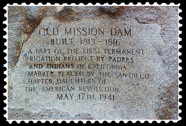 Old Mission Dam in San Diego, California