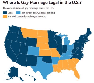 Legal marriage What is gay state
