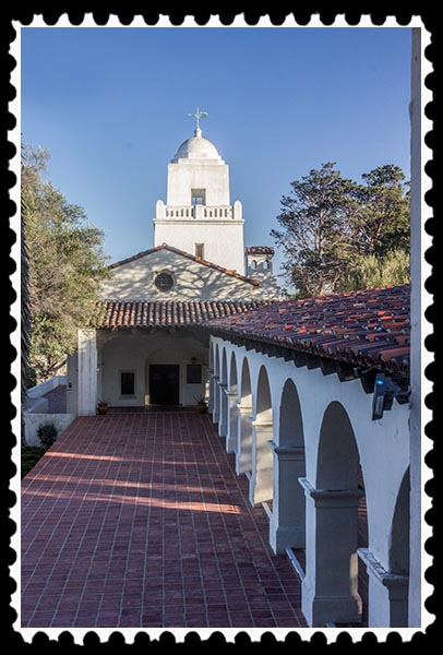 Junipero Serra Museum in San Diego California