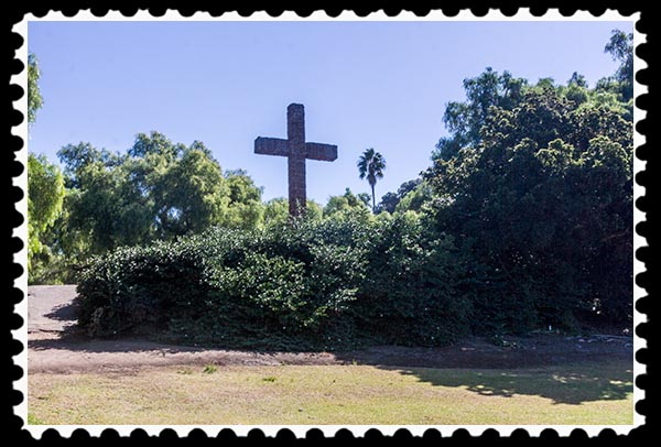 The Cross in Presidio Park in San Diego California