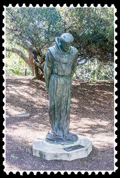 """The Padre"" by Arthur Putnam in San Diego California"