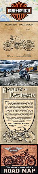 Harley-Davidson montage