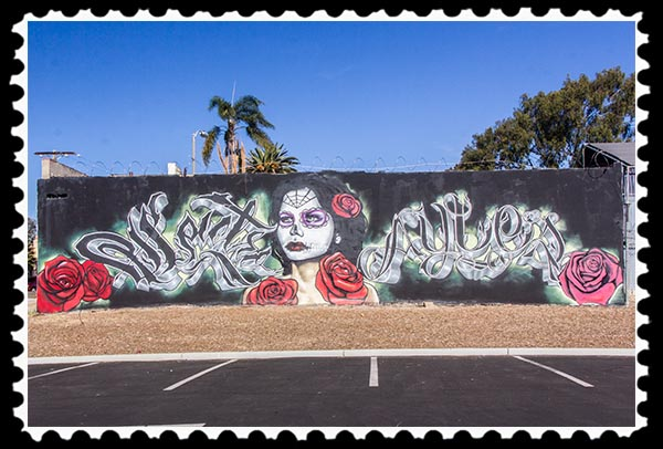 Mural in San Diego