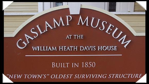 Davis-Horton House in the Gaslamp Quarter in San Diego