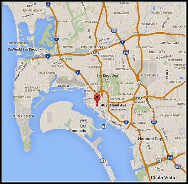 Location of Heath-Davis House