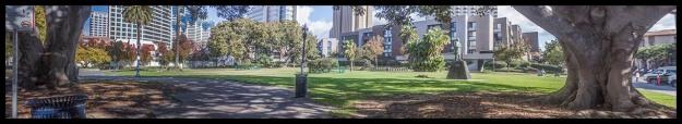 Pantoja Park panorama