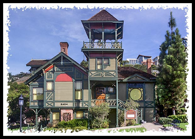 Sherman-Gilbert house in San Diego