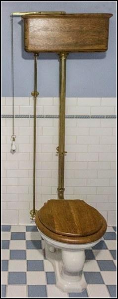 Historical toilet