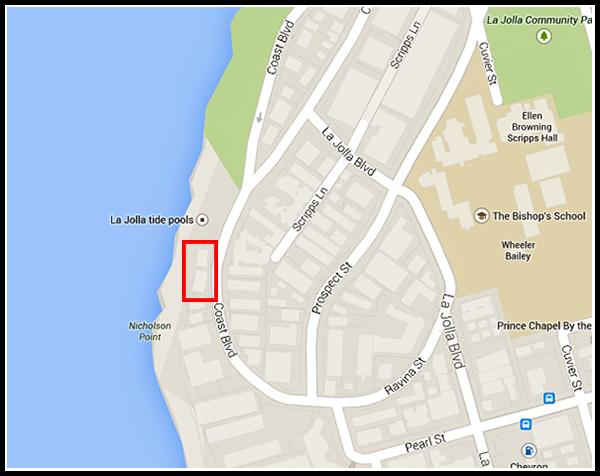 La Jolla beach houses