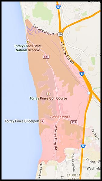 Torrey Pines Area