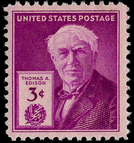 Scott #945 Thomas Edison