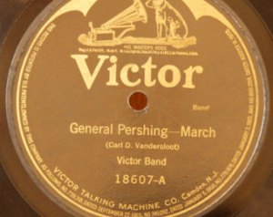 78 rpm Big Band music