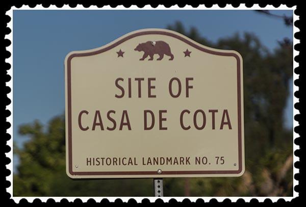 Casa de Cote site