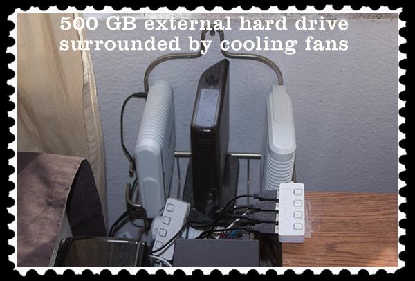 500 GB external hard drive