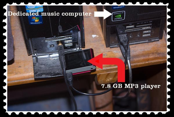 7.8 GB MP3 player