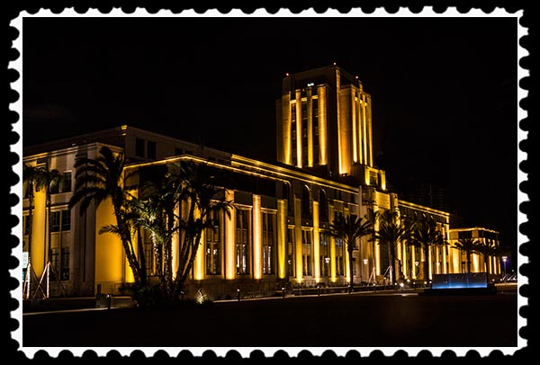 San Diego County Administration Center stamp