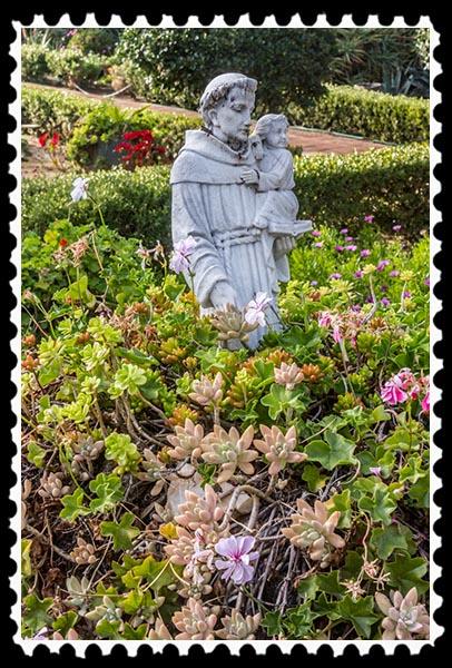Quadrangle at Mission San Antonio de Pala in Pala, California