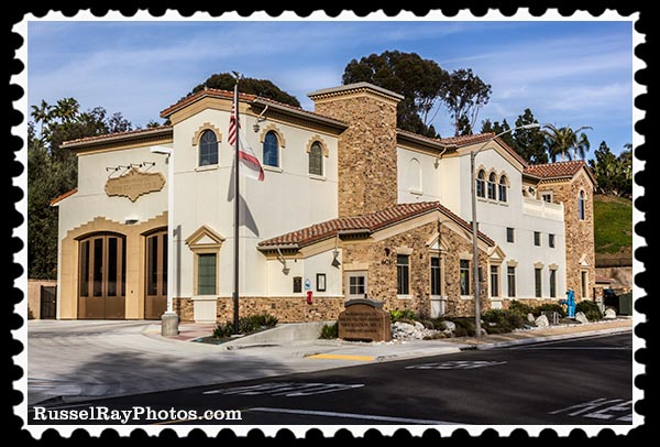 Fire Station #3 in Fairbanks Ranch, Rancho Santa Fe, California