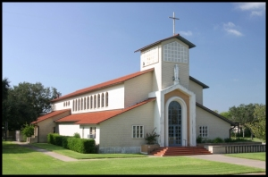 St Gertrude Catholic Church in Kingsville Texas