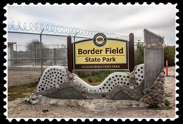 Border Field State Park in San Diego County, California