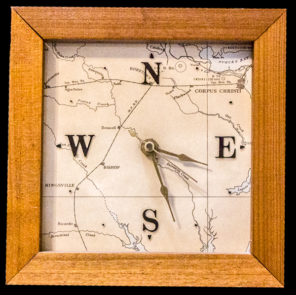 South Texas clock
