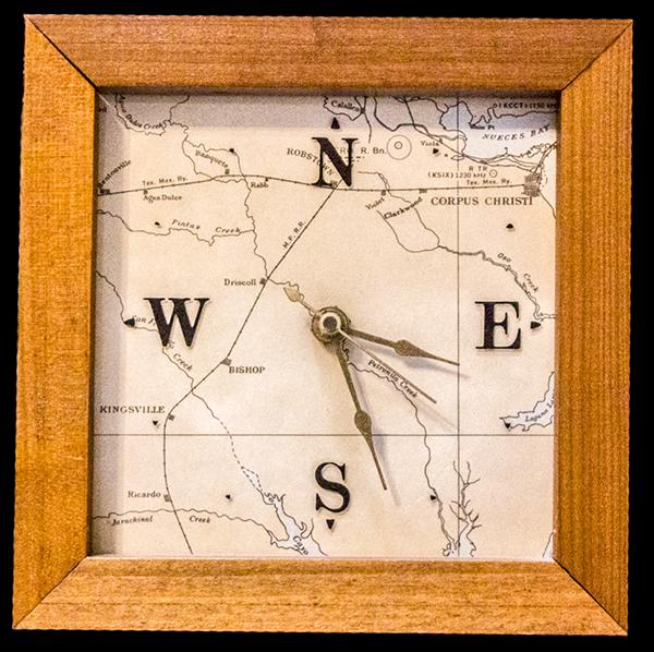 South Texas clock