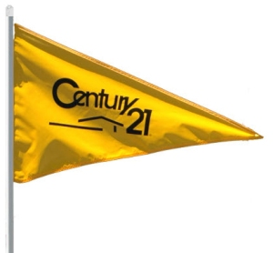 century 21 open house sign pennant flag