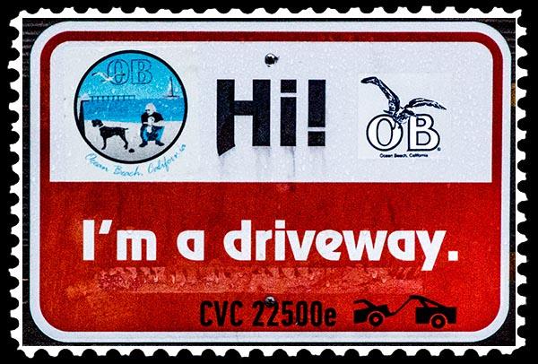 IMG_0075 i'm a driveway ocean beacn stamp