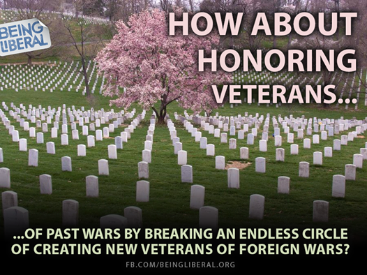 Honoring veterans in the future