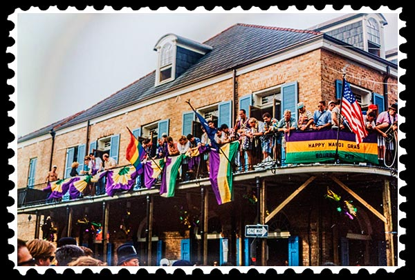 1995 Mardi Gras in New Orleans