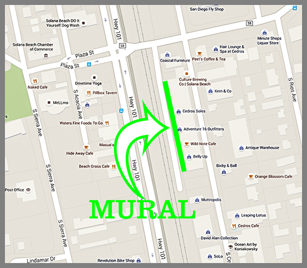 mural location