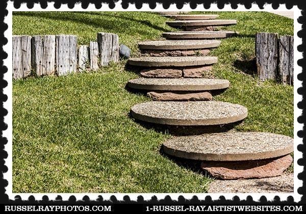 Walkway stairs