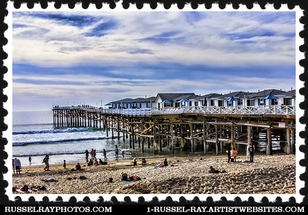 Crystal Pier Hotel in Ocean Beach, San Diego, California