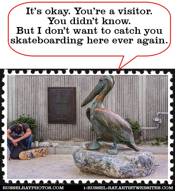 img_0575 pelican crystal pier la jolla stamp