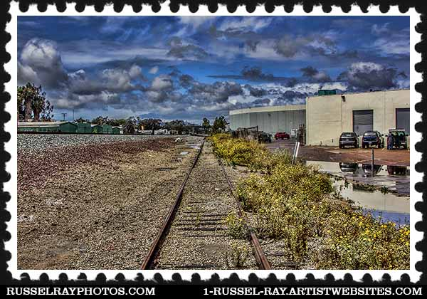 img_1975 abandoned railroad tracks stamp