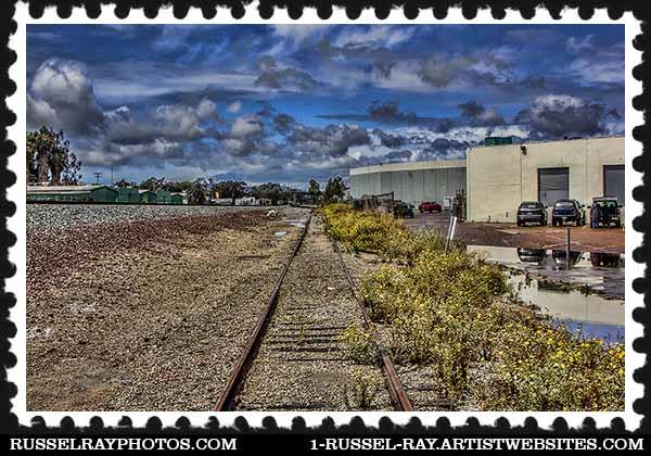 img_1975 abandoned railroad tracks stamp
