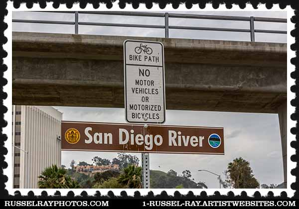 San Diego River pathway