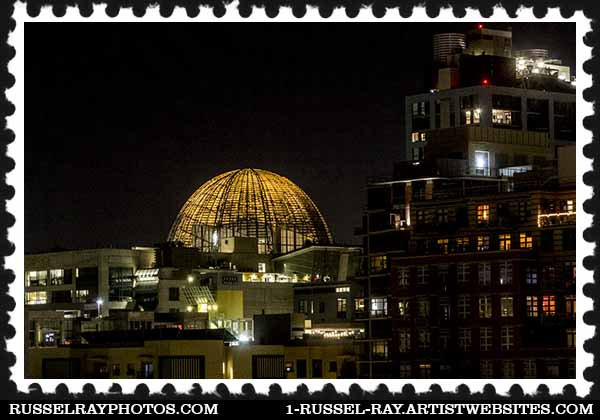 San Diego Central Library stamp