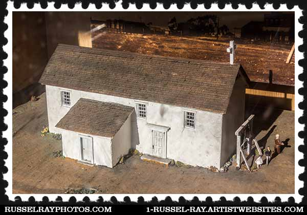 Old Adobe Chapel in San Diego, California
