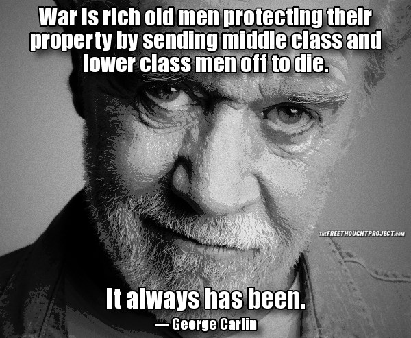 War is rich old men